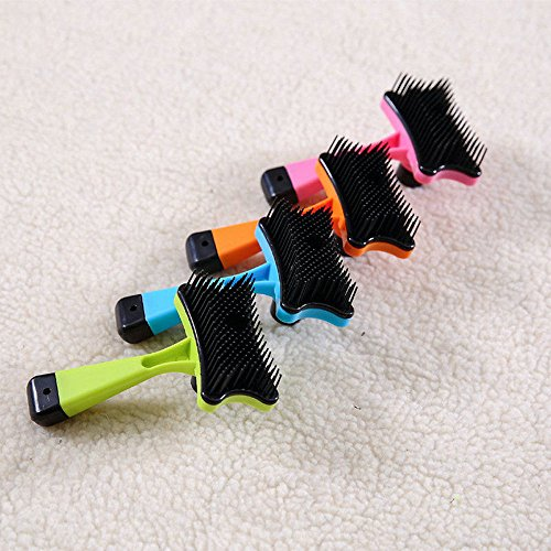 pet-dog-cat-hair-fur-shedding-trimmer-rake-professional-comb-brush-tool-green
