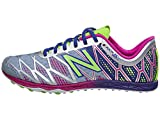 New Balance Women's WXC900 Spike Running Shoe, Grey/Purple, 11 B US