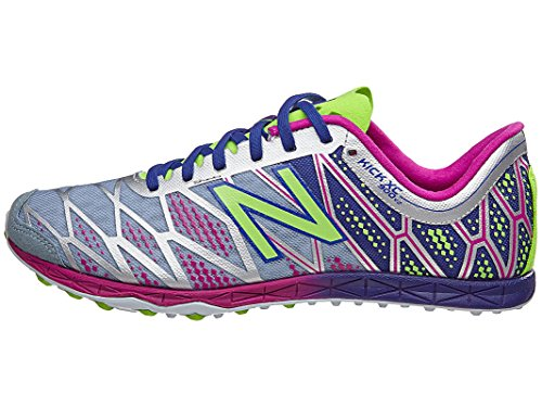 New Balance Women's WXC900 Spike Running Shoe, Grey/Purple, 11 B US by New Balance