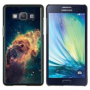 "Be-Star Único Patrón Plástico Duro Fundas Cover Cubre Hard Case Cover Para Samsung Galaxy A5 / SM-A500 ( Galaxy Espacio de Polvo Gas Estrellas Cluster Amarillo"" )"