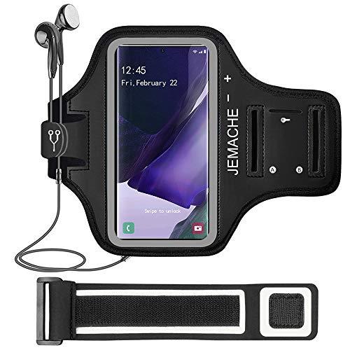 Galaxy Note 20, 20 Ultra Armband, JEMACHE Gym Running Oefeningen Trainingen Telefoon Arm Band voor Samsung Galaxy Note…