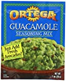 Ortega Seasoning Mix, Guacamole, 1 Ounce (Pack of 12)