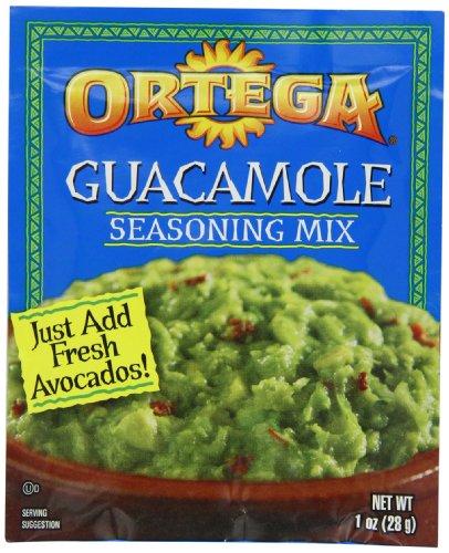 Ortega Seasoning Mix  Guacamole  1 Ounce  Pack Of 12
