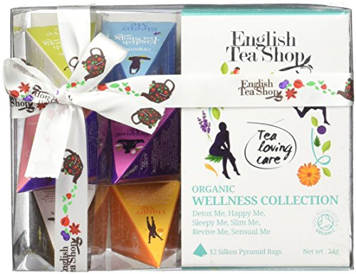 English Tea Shop Collection Pyramid, Wellness Tea, 24 (Hampers Shop)