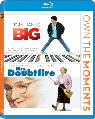 Big / Mrs. Doubtfire Double Feature Blu-ray