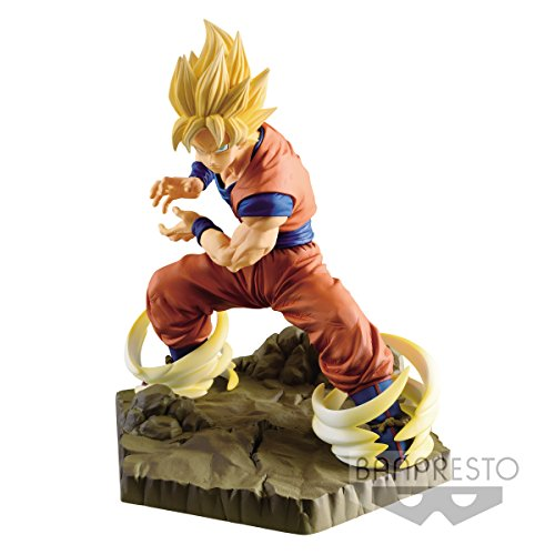 Banpresto – Figurine DBZ – Son Goku Super Saiyan Absolute Perfection 15cm – 3296580824045
