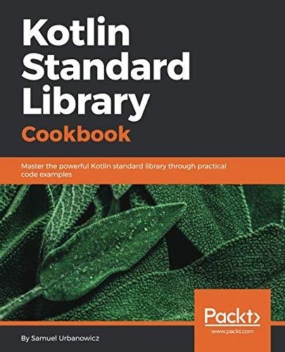 Kotlin Standard Library Cookbook Front Cover