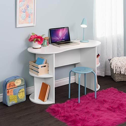 Prepac WEHR-0903-1 Kurv Compact Student Desk, White (Student Desk White)