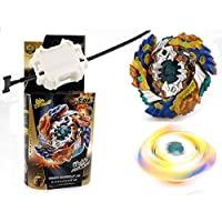 Gyro Battling Top Beyblade Burst B-122 Geist FAFNIR.8' .Ab Stamina Starter Top Pack Spinning with Launcher