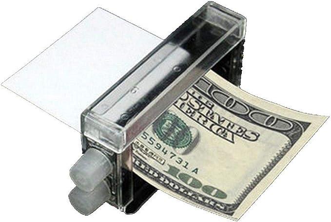 Close Up Magic Trick Easy Money Printing Machine Money Maker Magic Toys Pe NEW