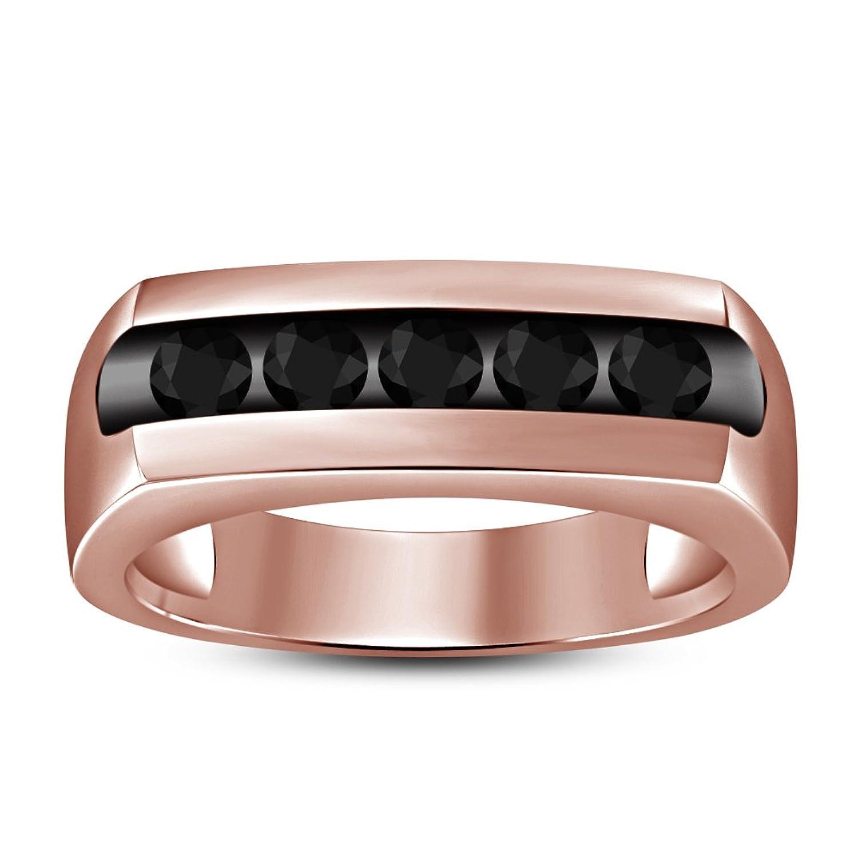 1294a2628cfa Lilu Jewels - Anillo de compromiso para hombre