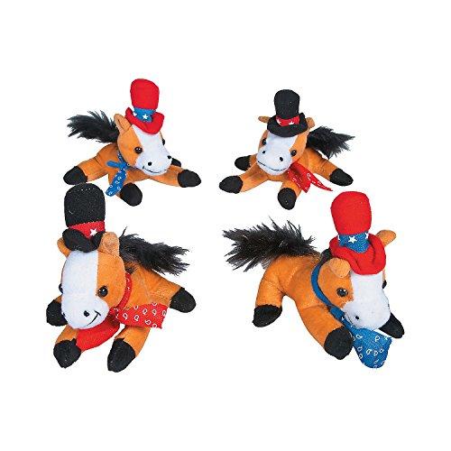 Plush Cowboy Horse  - Bulk