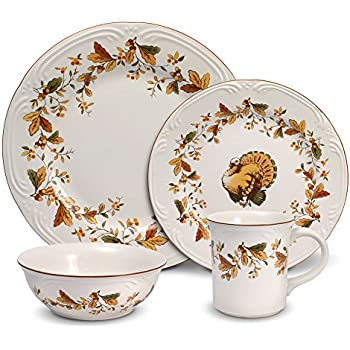 toile dish sets amazoncom johnson brothers 16 piece his majesty dinner set