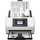 PC Hardware : Epson DS-780N Network Color Document Scanner for PC and Mac, 100-page Auto Document Feeder (ADF), Duplex Scanning
