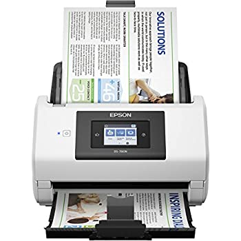 Amazon com: Epson DS-7500 Document Scanner: 40ppm, TWAIN & ISIS