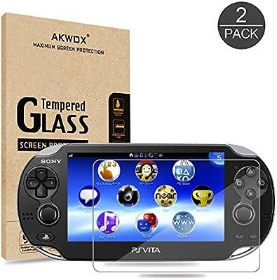 Pack of 2) Screen Protector For PS Vita 1000, Akwox Premium