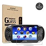 (Pack of 2) Screen Protector For PS Vita 1000, Akwox Premium HD Clear