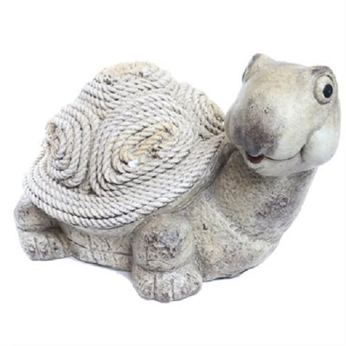 Alpine Corporation Turtle Rope Statue