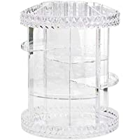 Starmood Rotating Acrylic Transparent Cosmetic Storage Box with