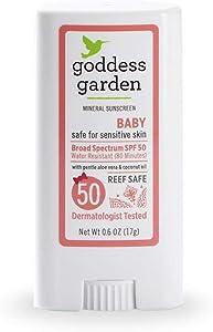 Goddess Garden - Baby SPF 50 Mineral Sunscreen Stick - Multi Pack - 2 Units