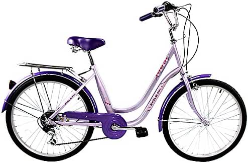 Zycle Fix ZF-PR-24 City Bikes, Purple, 24-Inch Wheel/Frame