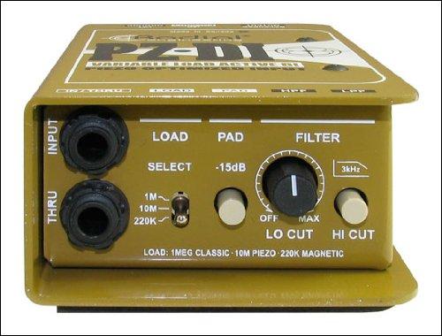 Radial PZDI 1-channel Passive Piezo-Optimized Direct Box