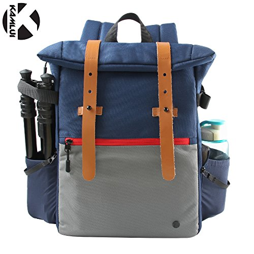 DSLR Camera Backpack for Canon 200D 80D 6D2 5D4 5D3 750D 100