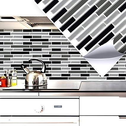 3D Fliesenaufkleber für Küche Bad Wandaufkleber Fliesenfolie zur Auswahl W5570
