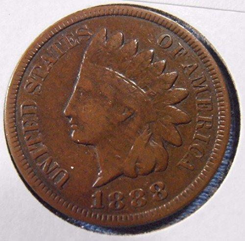 1888 U.S. Indian Head Cent / Indian Head Penny Good and Better