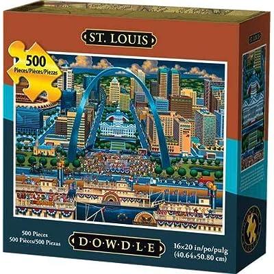Dowdle Jigsaw Puzzle - St. Louis - 500 Piece: Toys & Games