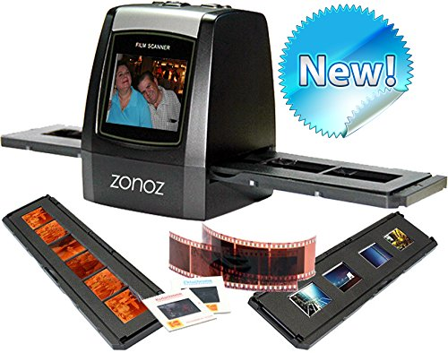 zonoz FS-ONE 22MP Ultra High-Resolution 35mm Negative Film & Slide Converter Scanner w/ 2.4