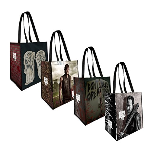 the-coop-the-walking-dead-4-pack-reusable-grocery-tote-bags-not-machine-specific