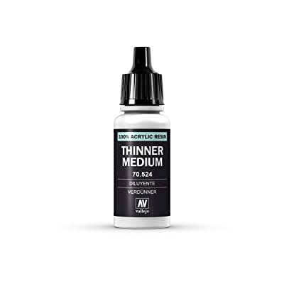 Vallejo Mediums: Thinner #200 (17ml): Home Improvement