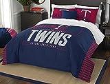 MLB Minnesota Twins Grandslam Full/Queen Comforter and 2 Sham Set