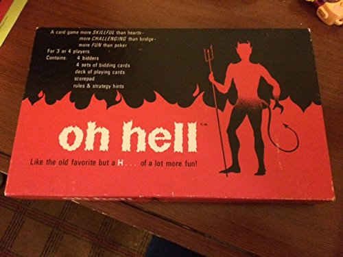 Oh Hell Cadaco Card Game