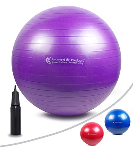 Stability Ball Office Chair Size: Exercise Ball For Balance, Stability, Yoga, Pilates, Swiss