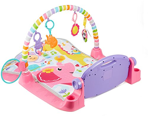 51fcWk1ubAL - Fisher-Price Deluxe Kick 'n Play Piano Gym, Pink