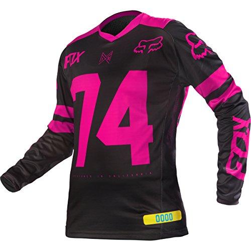 Fox Switch - 2016 Fox Racing Womens Switch Jersey-Pink-XS
