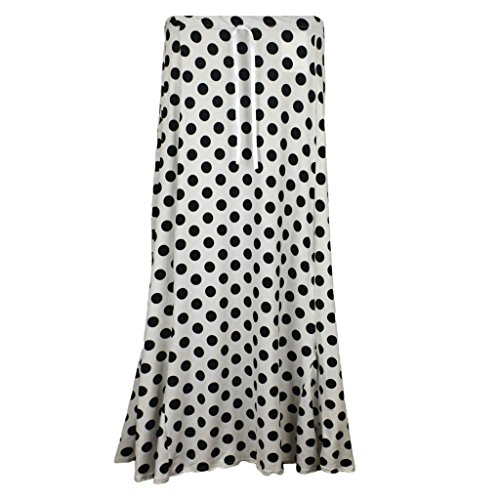 Taille Polka Vanilla With Unique Noir Inc Jupe Femme White Dots Black pZFZBCn