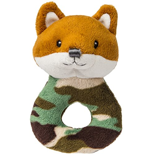 Mary Meyer Little Camo Fox Soft Rattle by Mary Meyer