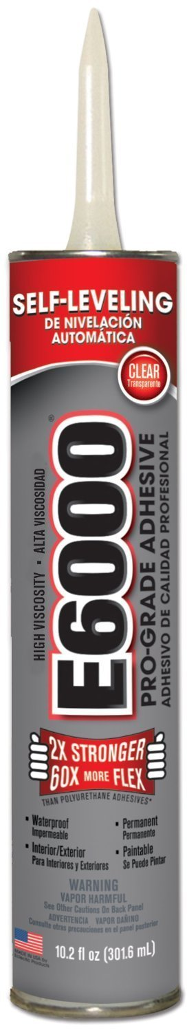 Eclectic 222011 18 Pack 10.2 oz. E-6000 Industrial Strength Adhesive, Clear by E-6000 (Image #1)