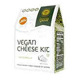 Druids Grove Vegan Mozzarella Kit (Nondairy Cheese) ☮ Vegan ⊘ Non-GMO ❤ Gluten-Free ✡ OU Kosher Certified