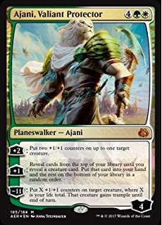 Amazon.com: Magic: the Gathering - Ajani, Mentor of Heroes ...