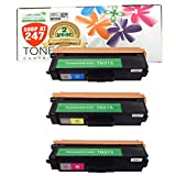 Shop At 247 ® Compatible Toner Cartridge Replacement for Brother TN315 High Yield (1 Cyan, 1 Yellow, 1 Magenta, 3-Pack)