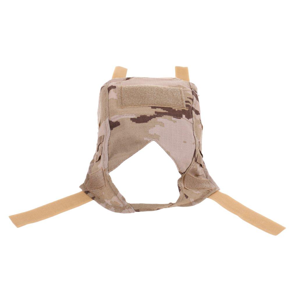 Tarnfarbig C0-04- Baoblade Baoblaze Helm Bezug Tarnbezug Abdecking Passt nur abnehmbare Fast Helm