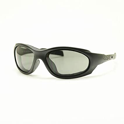 b6b9628104c6 Image Unavailable. Image not available for. Color: Wiley X XL-1 Advanced  Smoke Grey Clear Lens Matte Black Frame