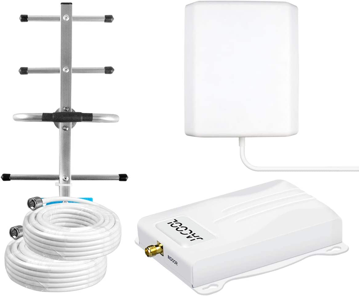 Cell Phone Signal Booster 4G LTE T-Mobile AT&T Cell Phone Booster Amplifier ATT Mobile Signal Booster 700Mhz Band 12/17 US Cellular Signal Repeater for Home - No More Dropped Calls for Remote Area