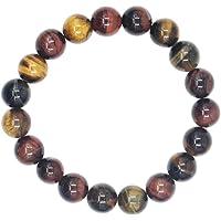 UEUC Yoga Protection Triple Bracelet Pierre Protection: Oeil de Tigre Taureau, Pochette Falcon + Offerte