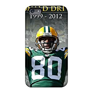 Anti-scratch And Shatterproof Green Bay Packers Phone Case For Apple Iphone 6 Plus/ High Quality Tpu Case