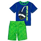 Asics Boys 2-7 2-Piece Athletic Top & Shorts Set 5 Asics Blue